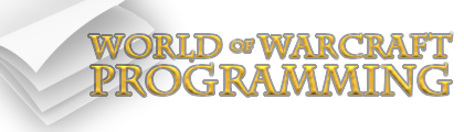 World of Warcraft Programming Site Logo